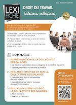 Téléchargez le livre :  Droit du travail - Relations collectives (5ème édition)