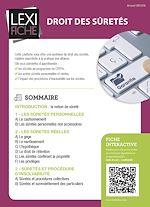 Download this eBook Droit des sûretés