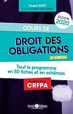 Download this eBook Cours de droit des obligations (édition 2020)
