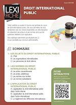 Download this eBook Droit international public