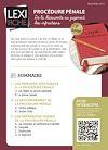 Télécharger le livre :  Procédure pénale - De la découverte au jugement des infractions (2ème édition)