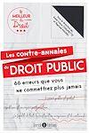 Télécharger le livre :  Les contre-annales du droit public