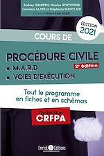 Téléchargez le livre :  Cours de procédure civile et modes alternatifs de règlement des différends 2021