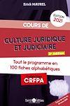 Télécharger le livre :  Cours de culture juridique et judiciaire - Édition 2021