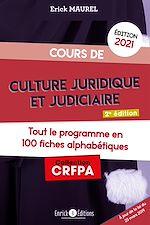 Download this eBook Cours de culture juridique et judiciaire - Édition 2021
