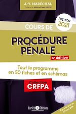Download this eBook Cours de procédure pénale 2021