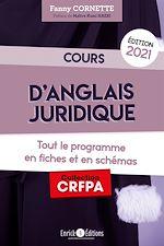 Download this eBook Cours d'anglais juridique 2021