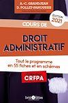 Télécharger le livre :  Cours de droit administratif - édition 2021