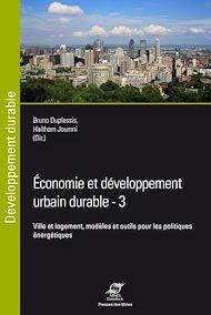 Téléchargez le livre :  Economie et développement urbain durable - 3