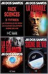 Télécharger le livre :  Pack JR Dos Santos - Sciences - 3 titres : La Formule de Dieu - La Clé de Salomon - Signe de Vie