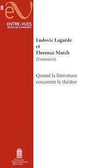 Téléchargez le livre :  Quand la littérature rencontre le théâtre