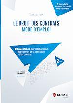 Download this eBook Le droit des contrats : mode d'emploi