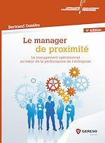 Download this eBook Le manager de proximité