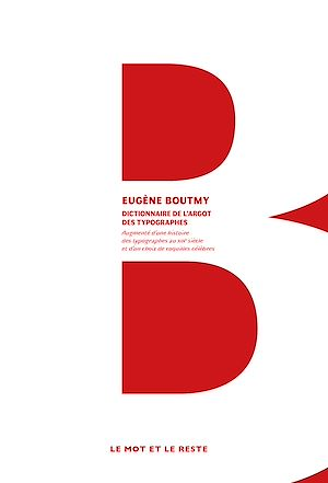 Téléchargez le livre :  Dictionnaire de l'argot des typographes