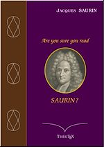 Download this eBook Are you sure you read Saurin ?