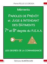 Download this eBook Mémento 7e et 8e degrés du R.E.A.A.
