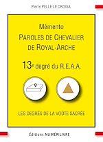 Download this eBook Mémento 13e degré du R.E.A.A.
