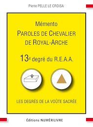 Téléchargez le livre :  Mémento 13e degré du R.E.A.A.