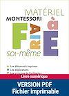 Télécharger le livre :  Montessori pas à pas : Matériel Montessori à faire soi-même