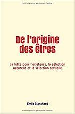Download this eBook De l'origine des êtres