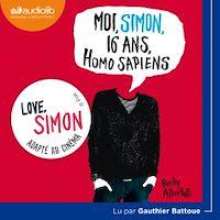 Télécharger le livre : Moi, Simon, 16 ans, Homo Sapiens