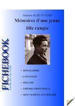 Download this eBook Fiche de lecture Mémoires d'une jeune fille rangée