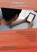 Download this eBook Fiche de lecture Paroles (Résumé détaillé et analyse littéraire de référence)