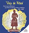 Télécharger le livre :  Voix de fêtes. Cent ans de discours aux fêtes de Jeanne d'Arc à Orléans 1920-2020