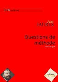Téléchargez le livre :  Questions de méthode