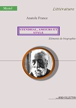 Download this eBook Stendhal, amours et style