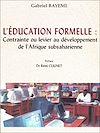 Télécharger le livre :  L'éducation formelle: contrainte ou levier au développement de l'Afrique subsaharienne?