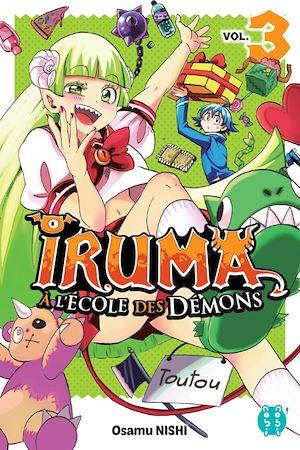 Téléchargez le livre :  Iruma à l'école des démons T03