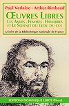 Télécharger le livre :  Œuvres libres, Les Amies - Femmes - Hombres - Sonnet du trou du cul