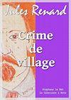 Télécharger le livre :  Crime de village