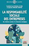 Télécharger le livre :  La Responsabilité Sociale des Entreprises