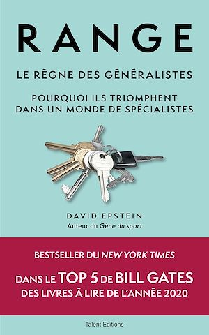 Téléchargez le livre :  Range : Le règne des généralistes