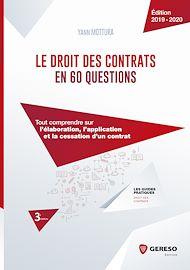 Téléchargez le livre :  Le droit des contrats en 60 questions