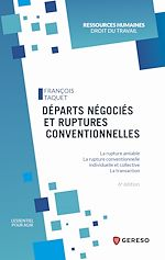 Download this eBook Départs négociés et ruptures conventionnelles