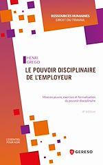 Download this eBook Le pouvoir disciplinaire de l'employeur
