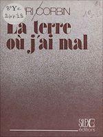 Download this eBook La terre où j'ai mal
