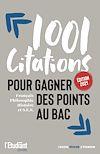 Télécharger le livre :  1001 citations pour gagner des points au bac