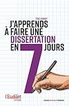 Télécharger le livre :  J'apprends à faire une dissertation en 7 jours