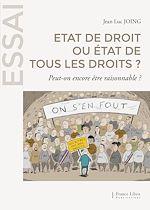 Download this eBook Etat de droit ou état de tous les droits ?