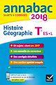 Télécharger le livre : Annales Annabac 2018 Histoire-Géographie Tle L, ES