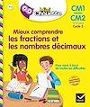 Télécharger le livre :  Mini Chouette - Mieux comprendre les fractions et les nombres décimaux CM1/CM2 9-11 ans