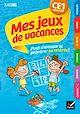 Télécharger le livre : Mes jeux de vacances du CE1 vers le CE2