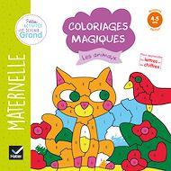 Téléchargez le livre :  Coloriages magiques - Les animaux MS
