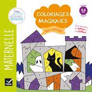 Téléchargez le livre :  Coloriages magiques -  Les contes GS