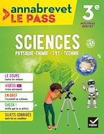 Download this eBook Sciences (SVT, physique-chimie, technologie) 3e brevet 2018