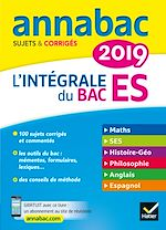 Download this eBook Annales Annabac 2019 L'intégrale Bac ES